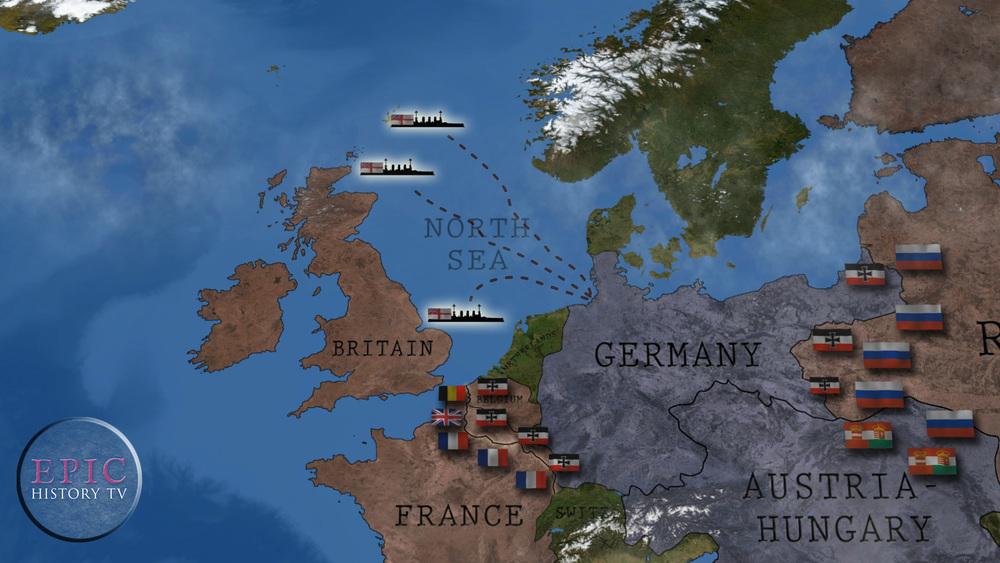 Epic History TV World War One Maps