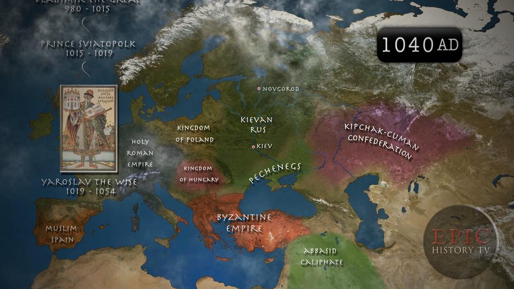 Russian 1040AD Kievan Rus