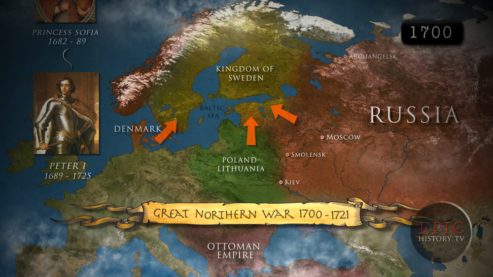 Great Northern War 1700