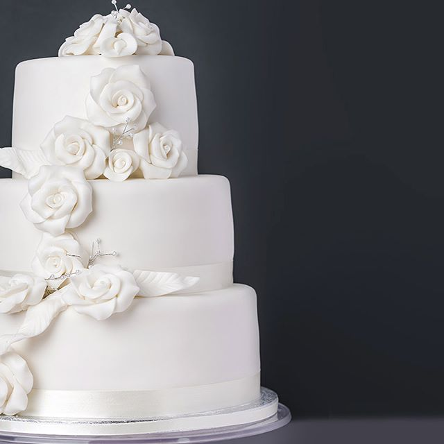 How are the wedding plans going? . . For the ultimate in elegance, why not add our beautiful White Cascading Rose cake – with its three tiers of Madeira sponge covered in soft, smooth icing this stunning centrepiece will wow just as much as the bride! . . 👰🍰👰🍰👰🍰👰🍰 #weddinguk #weddingplanning #bridetobe #bridetobe2018 #springbride #summerbride #weddingcakeinspo #weddingcakeideas @perfectweddingmag @welshweddings @britishweddingawards @brides