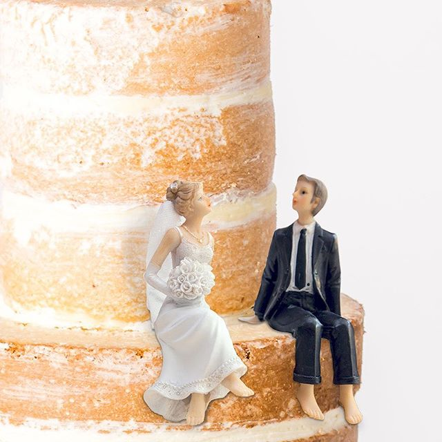 Unlike that annoying aunt, our truly versatile naked wedding cake will perfectly complement any wedding style, without taking over.  Celebrate your perfect day with this four-tier all-butter Madeira sponge, layered with delicate vanilla cream, and semi-masked for a perfectly modern, perfectly simple finish. . . . #bridetobe #bridetobe2018 #planningmywedding #weddingplanning #mmmcake #weddinguk #weddingcakeideas #weddingcakeinspo @brides @welshweddings @weddingideas