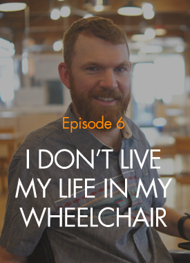 In 2002, a mountain biking accident left Luke Anderson with significant paralysis. Since then, he founded StopGap Foundation and turned his injury into a mission to create barrier-free cities. Luke talks to Amar and Gilad about access, empowering language, and finding his new normal. [Episode 6 Transcript]