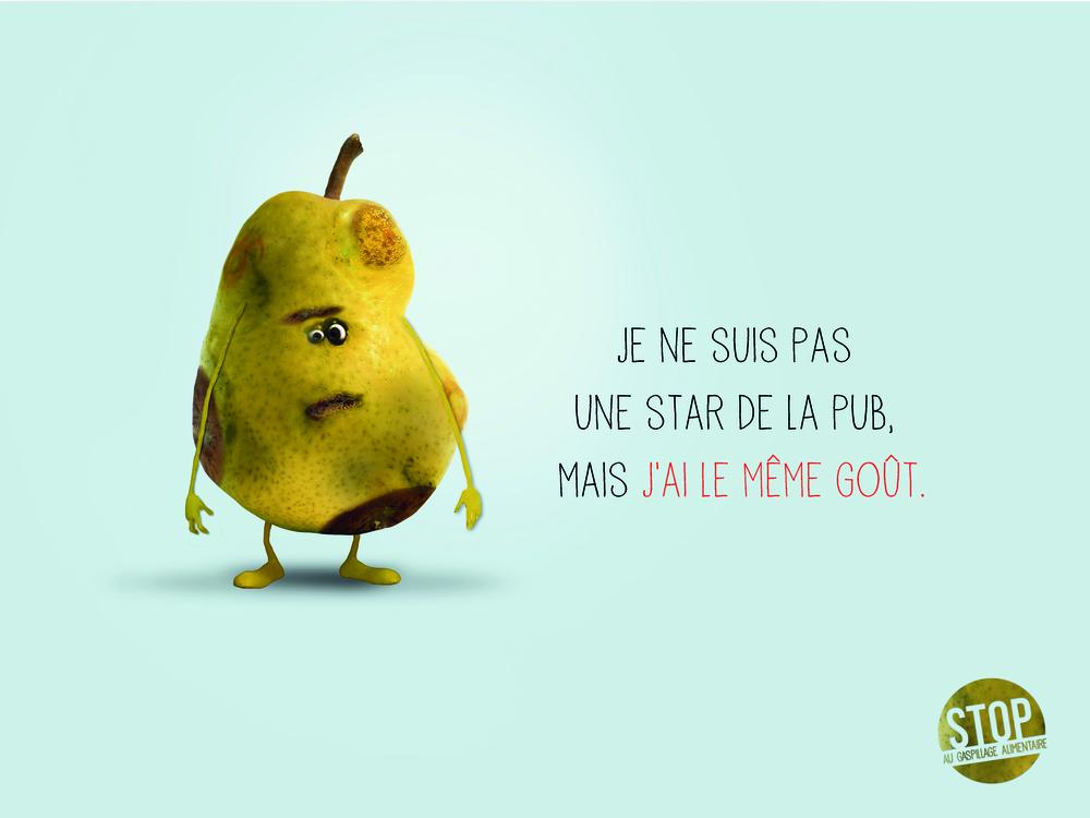 Premier Prix - «Fruits moches »:Axelle Roux et Hélène Petit(e-artsup - 4eannée)