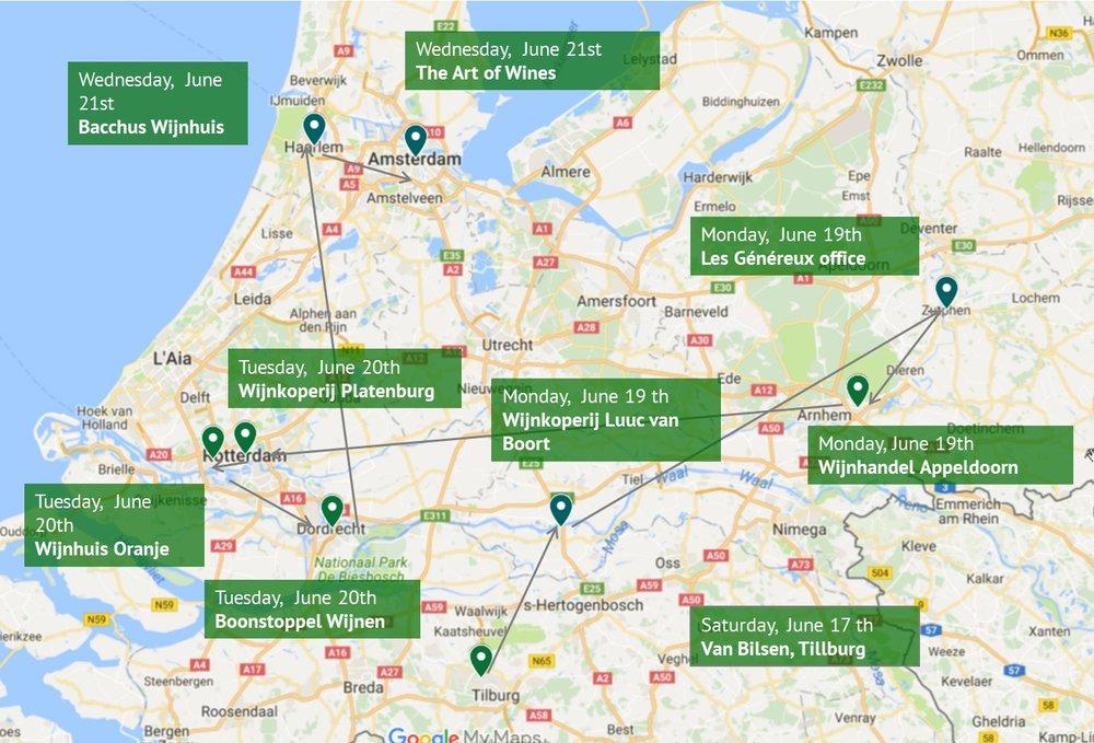 Susanna's Grand Dutch Wine Tour