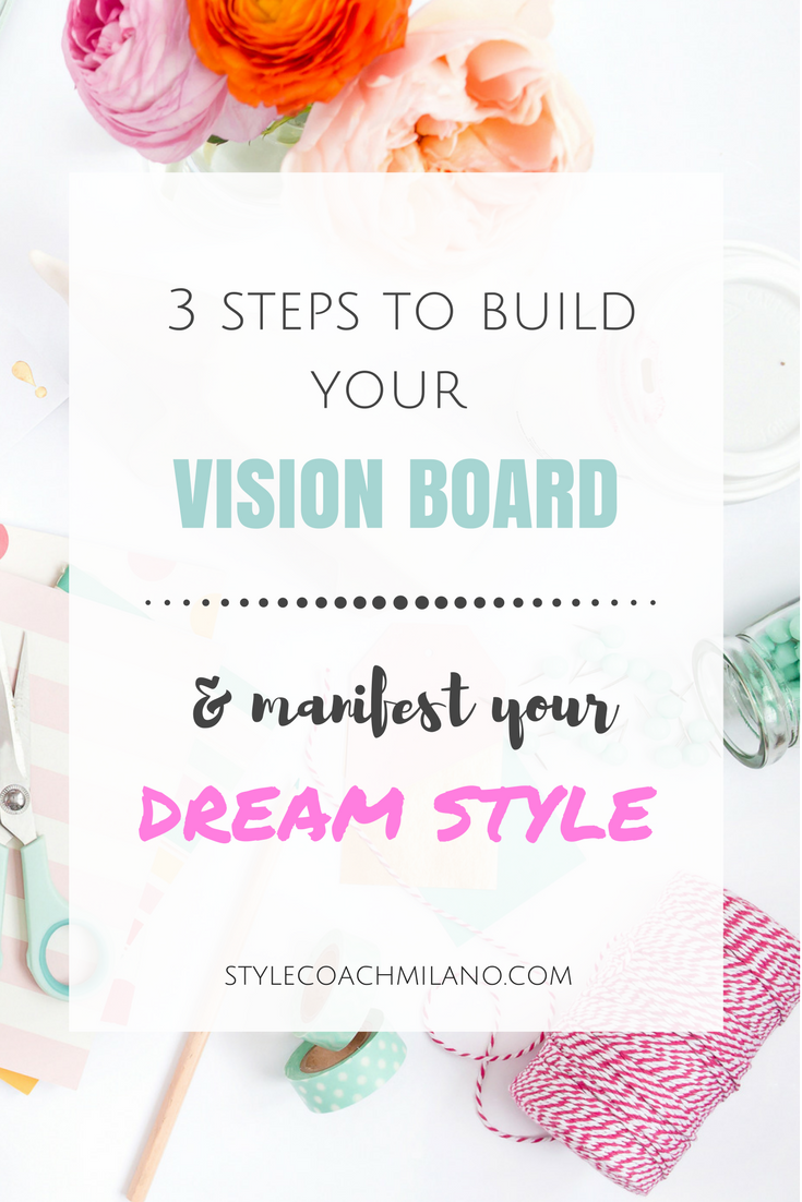 A Woman With Vision - How to build your style vision board in 3 easy steps
