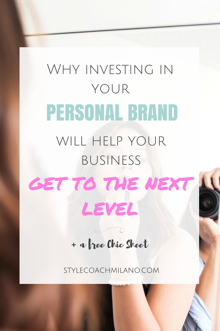 INVESTING IN YOUR PERSONAL BRAND: PART ONE