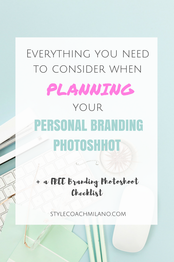 STYLE GUIDE: PERSONAL BRANDING PHOTOSHOOT