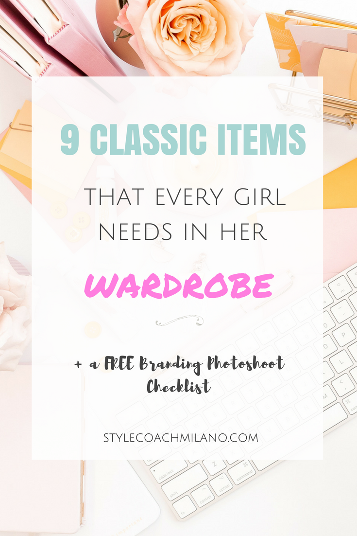 WARDROBE BASICS: EVERYDAY MUST-HAVE PIECES
