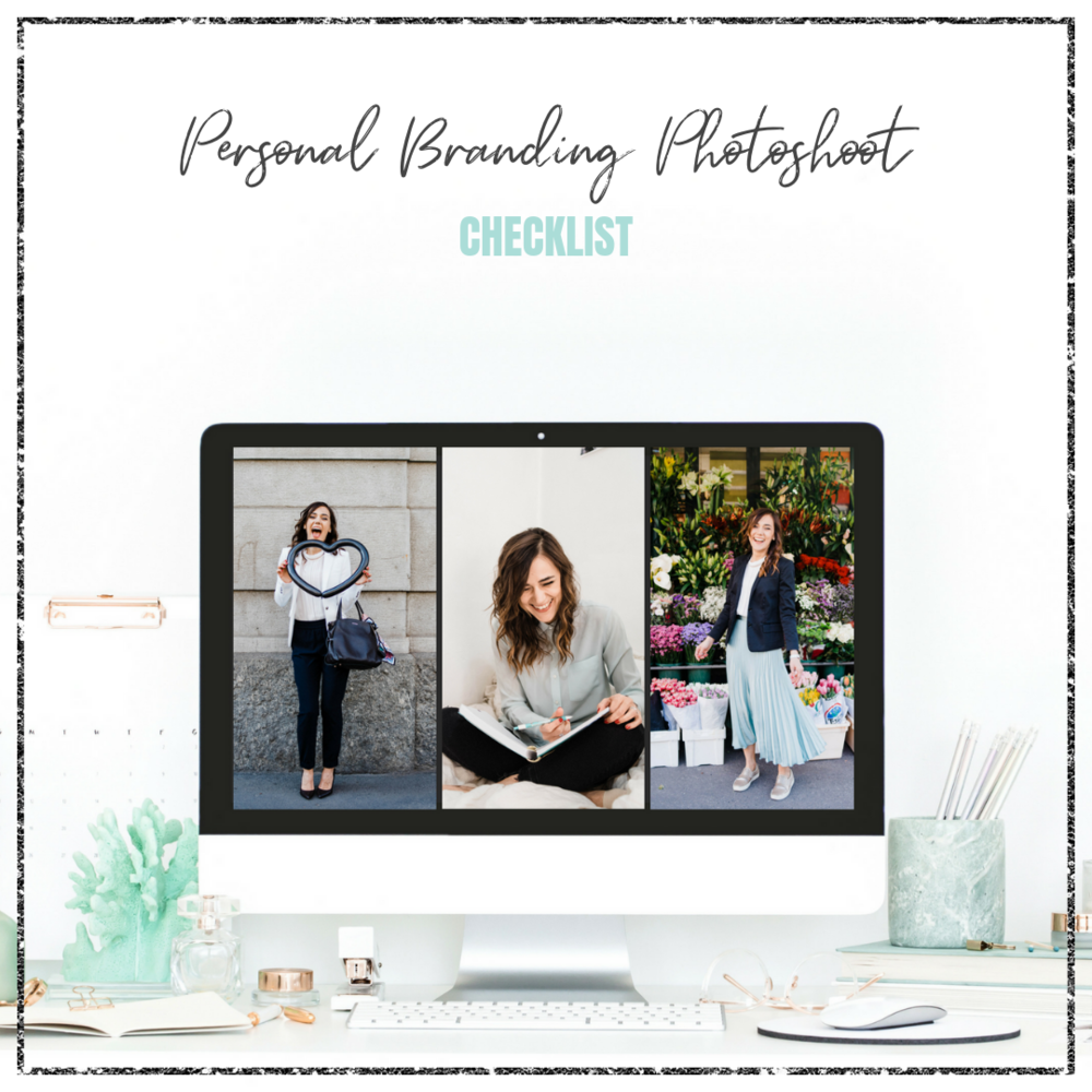 Personal Branding Photoshoot Checklist - Veronika Nemeth