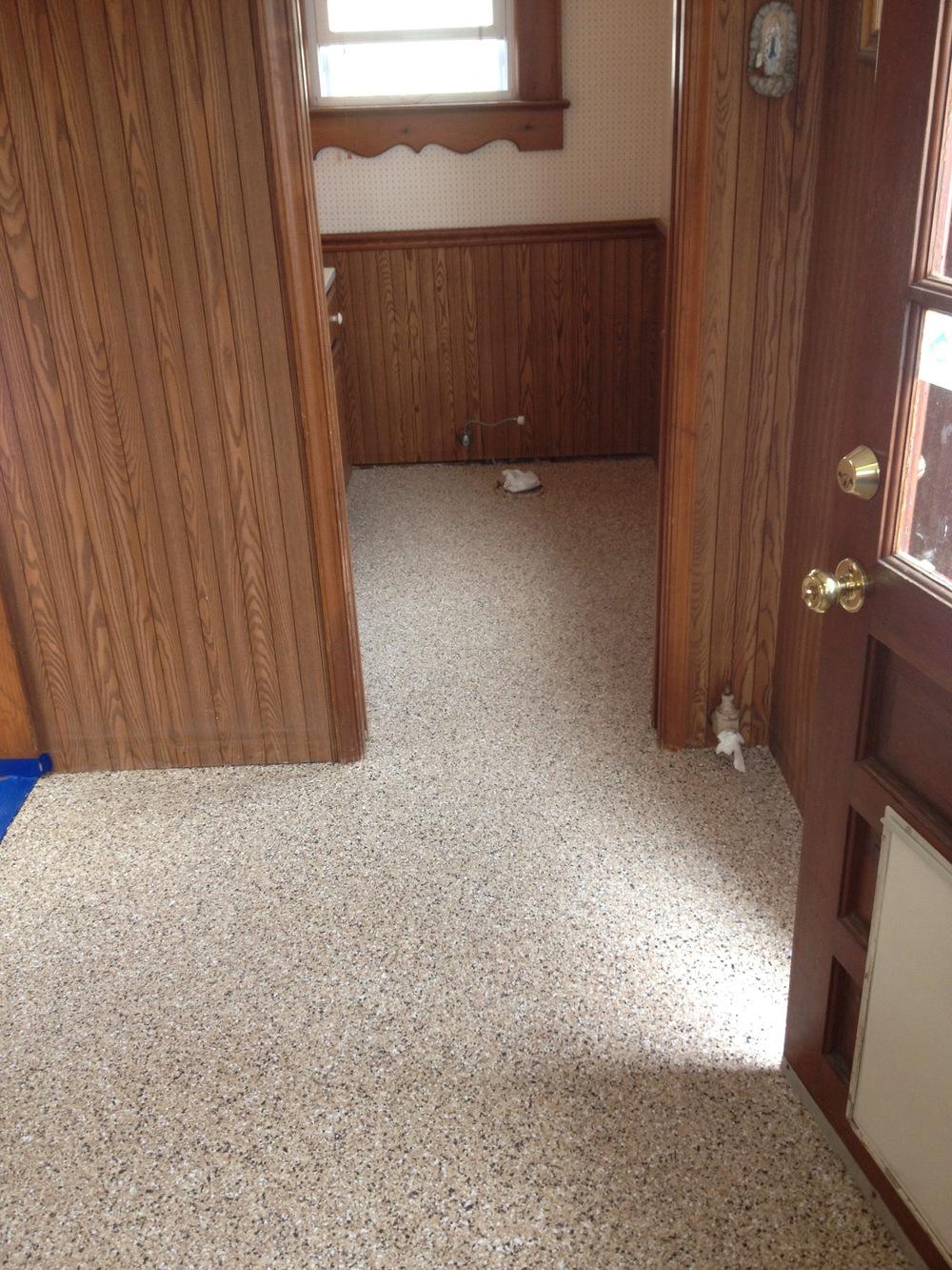 epoxy flakes home depot