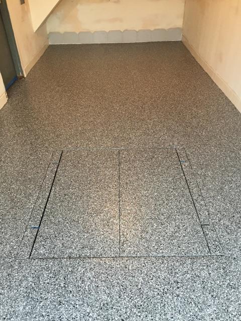garage floor epoxy chips