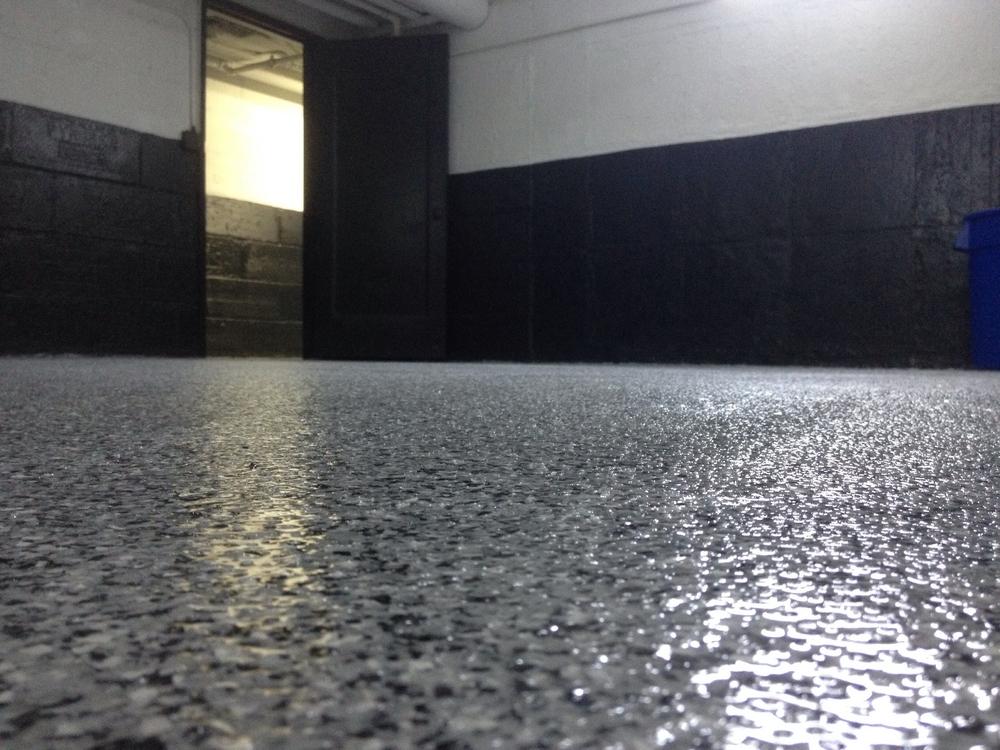 Decorative Acrylic Chip Floor