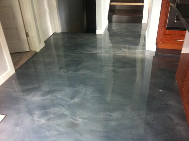 Metallic Epoxy Garage Floor Coatings
