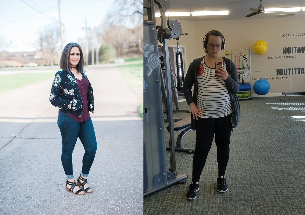 April 2017 on the left, February 2018 on the right.