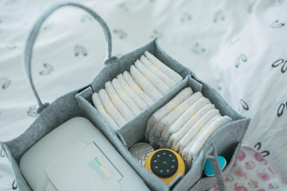 diaper organizer caddy