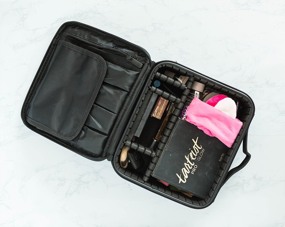 beauty blogger travel makeup case