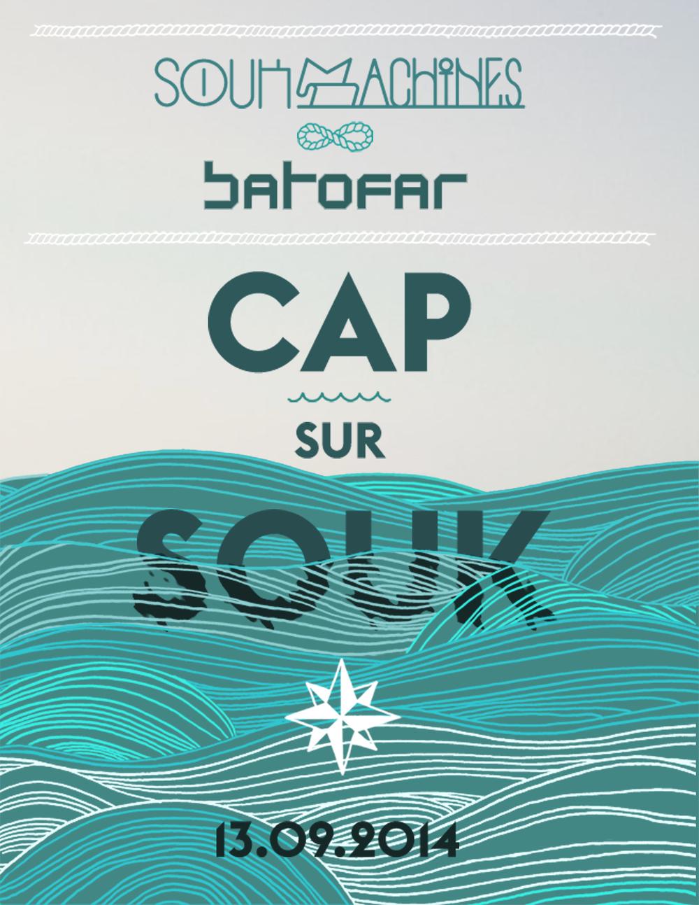 Cap sur le Souk, un événement Soukmachines au Batofar à Paris.