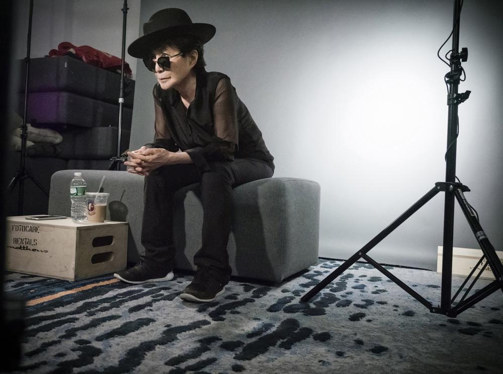 Yoko Ono, Pirelli calendar 2016 behind-the-sc