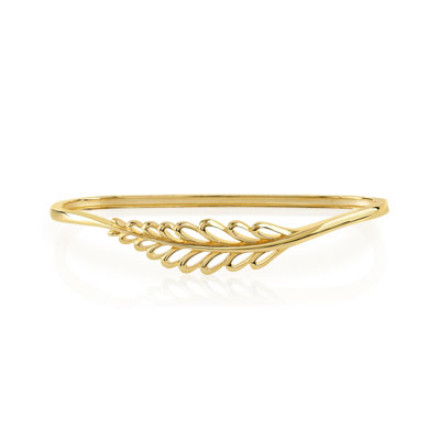 Gold-plated hand piece