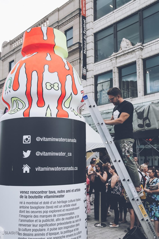 Vitamin Water x Tava, Festival Mode et Design Montreal