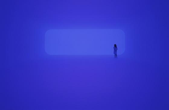 james turrell lacma blue