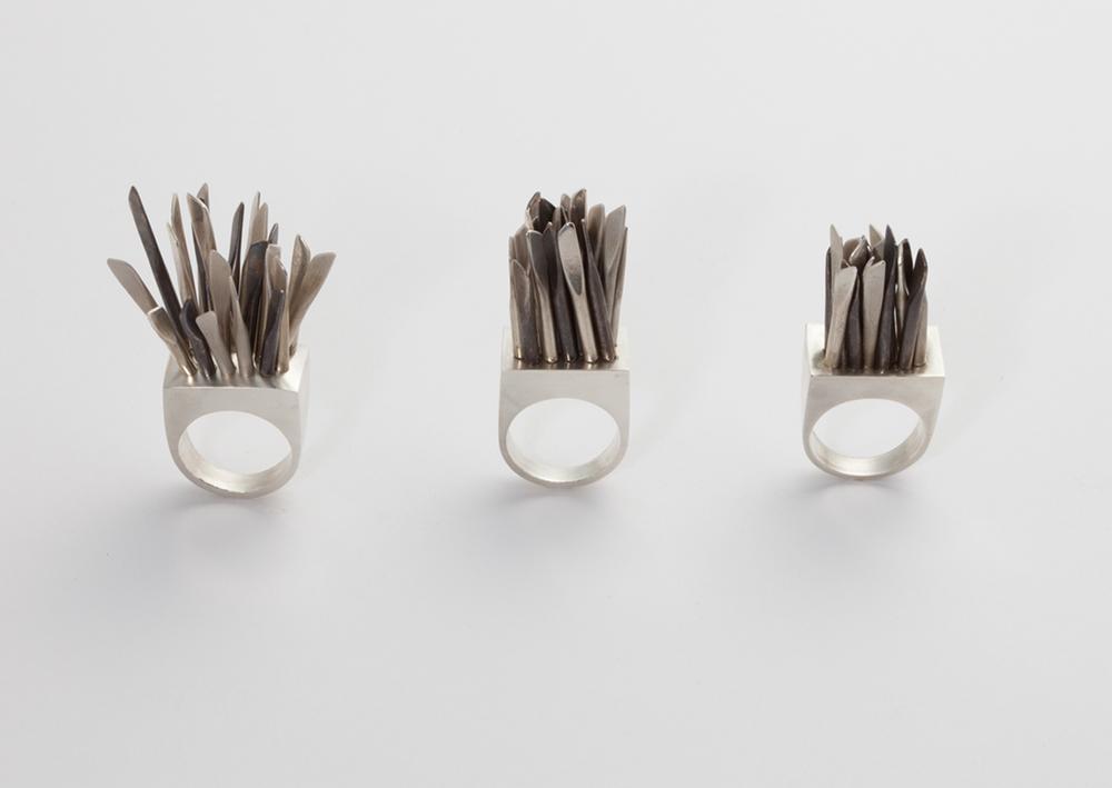 alma sophia design fidget rings