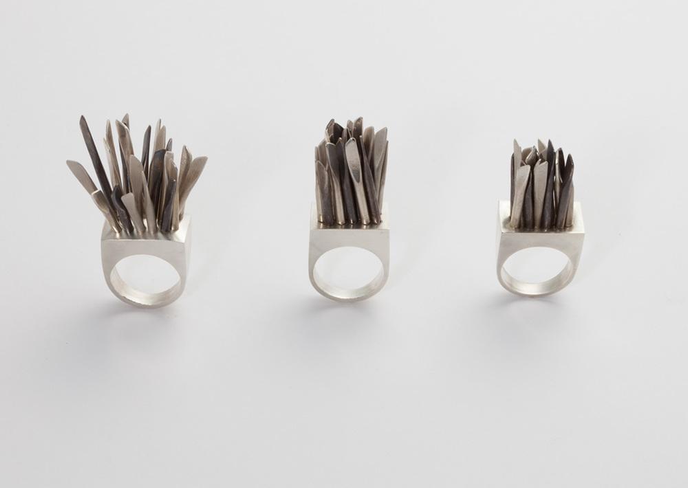 fidget rings –2013 – silver