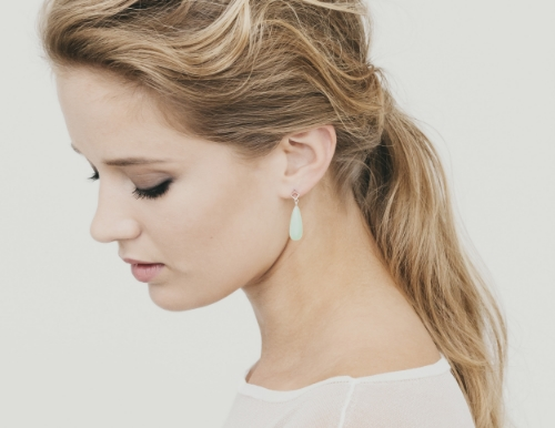 alma sophia design jade earrings