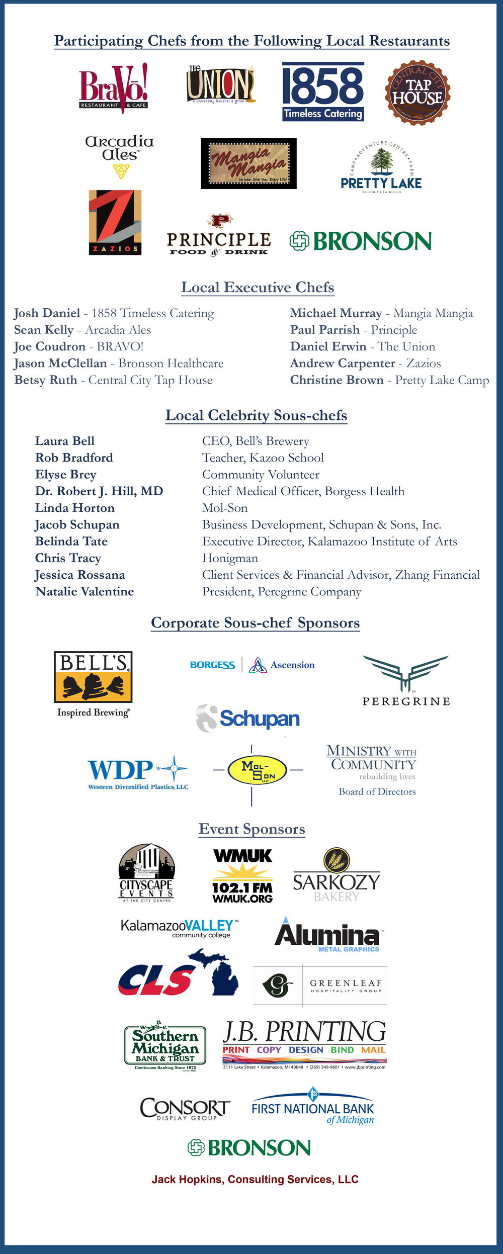 Thank you to all of our sponsors for making this event possible!