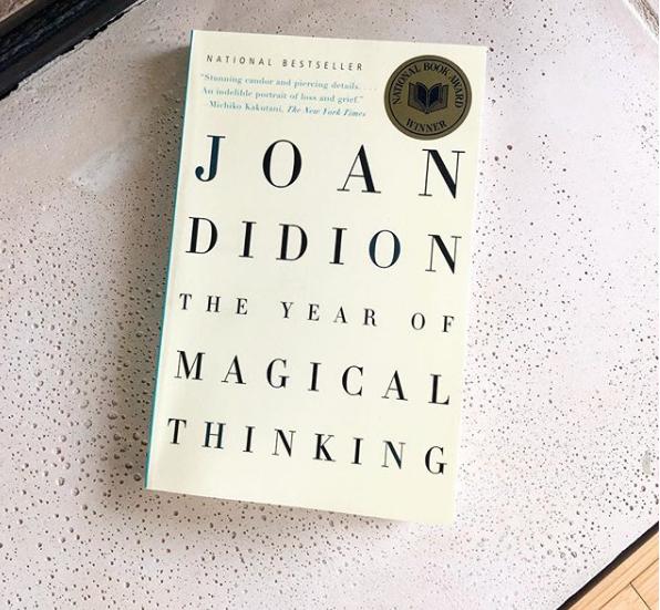 The Year of Magical thinking Joan Didion - Anbefalet af Janne Villadsen,udviklings- og kommunikationschef