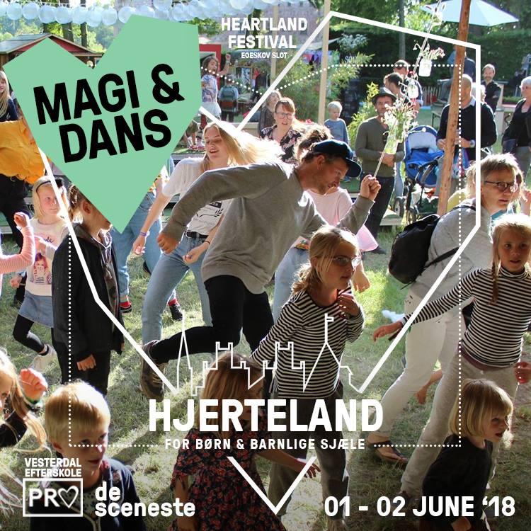 MAGI & DANS - Kridt de glade dansesko for igen i år slippes dansen fri i Hjerteland, når Hjertelands signaturdans leveres af Teaterskolen Spektaklet.