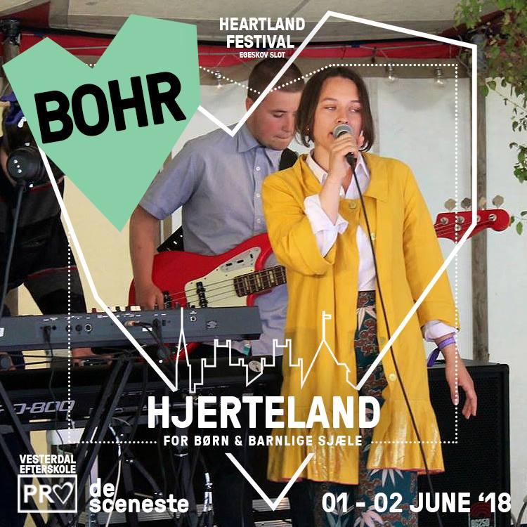 BOHR - Intet Hjerteland uden de skønne toner fra husorkestret Bohr, som igen i år vil sprede musikalsk tryllestøv over Hjerteland både fredag og lørdag.