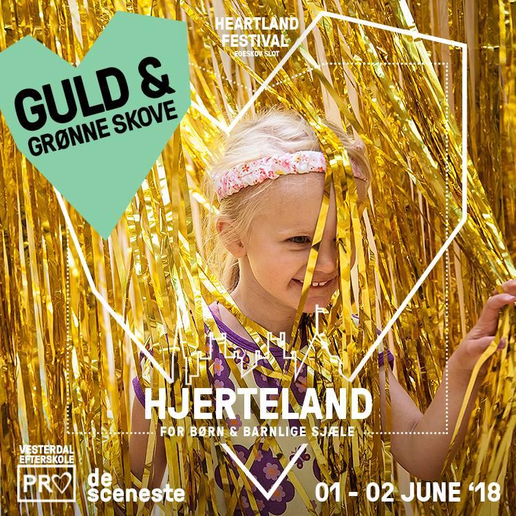 GULD & GRØNNE SKOVE - I årets Hjerteland vil der være både guld og grønne skove og lametta i lange baner...