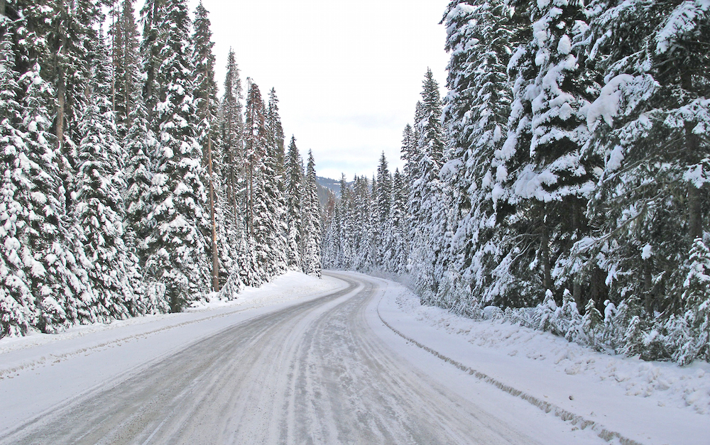 All about perspective: Do you see treacherous roads or beautiful scenery?