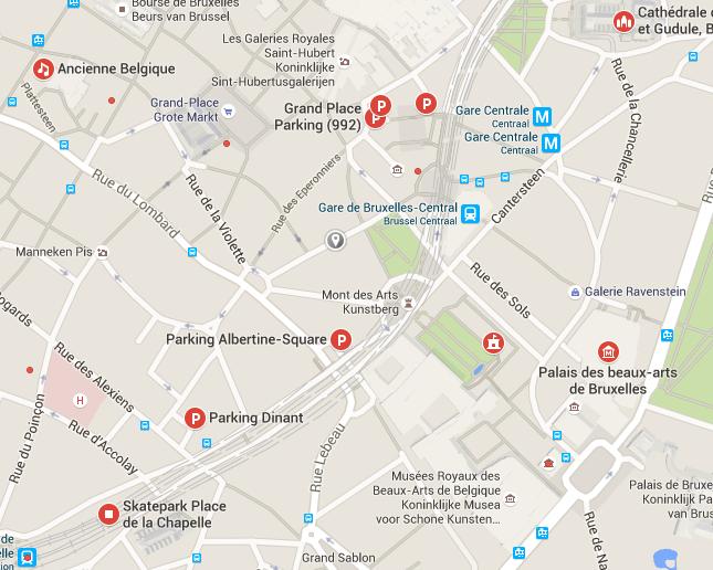 EN VOITURE  Beaucoup de parkings se trouvent à proximité de La Madeleine ! Renseignez-vous au préalable car certains ont des tarifs intéressants en soirée.