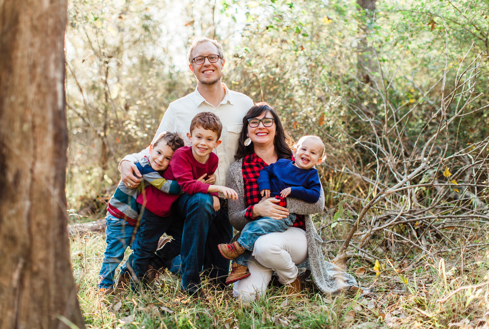 Hey there! - Welcome to Andrea Scott Photography. I am Andrea, the woman behind this business, and these are my fellas. Thanks for visiting my little space.