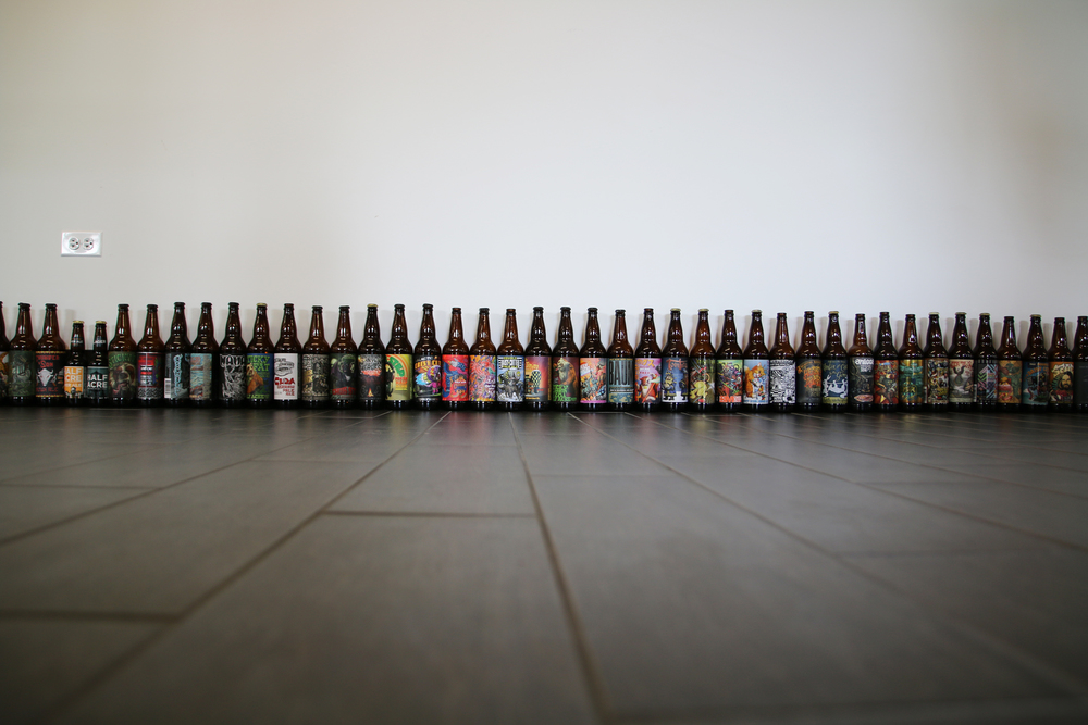 All The Half Acre Bottles