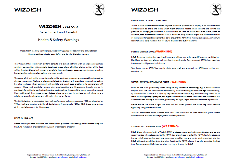 WizDish ROVR Health and Safety Warnings.PNG