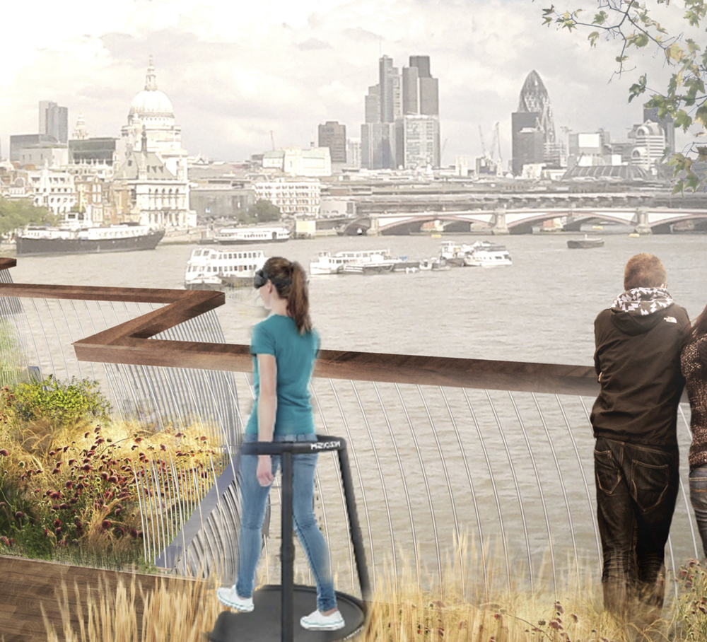 .........memories as if I had walked the Garden Bridge
