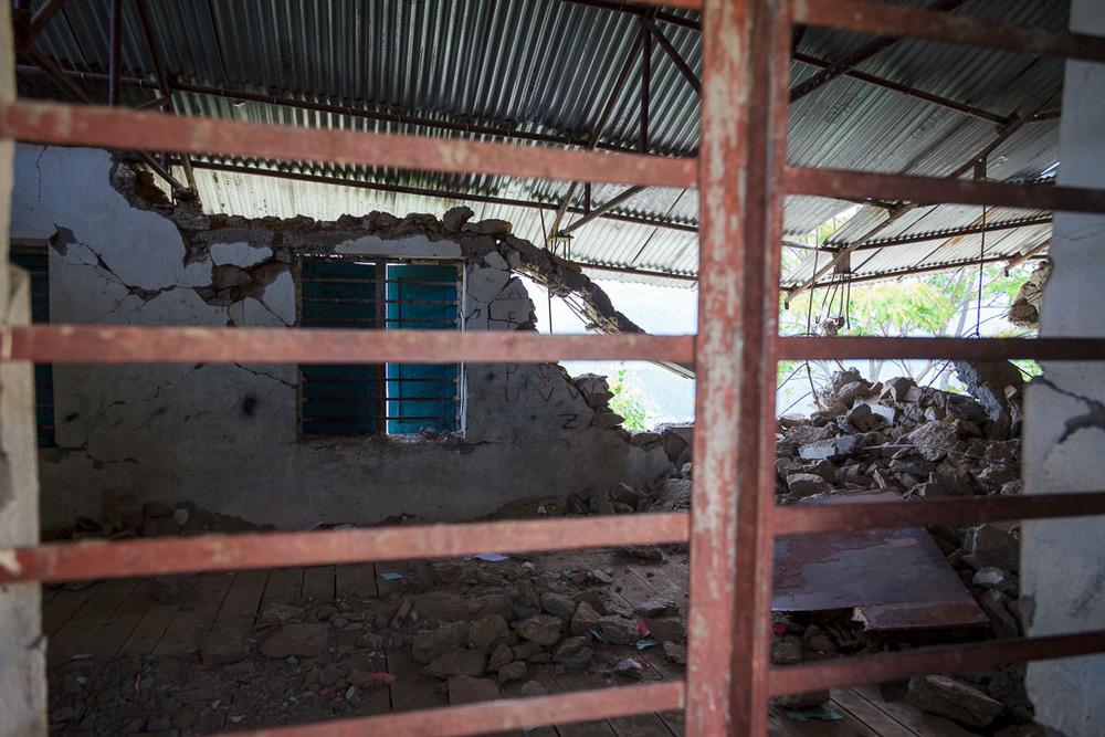 Shree Salme Primary school classroom.