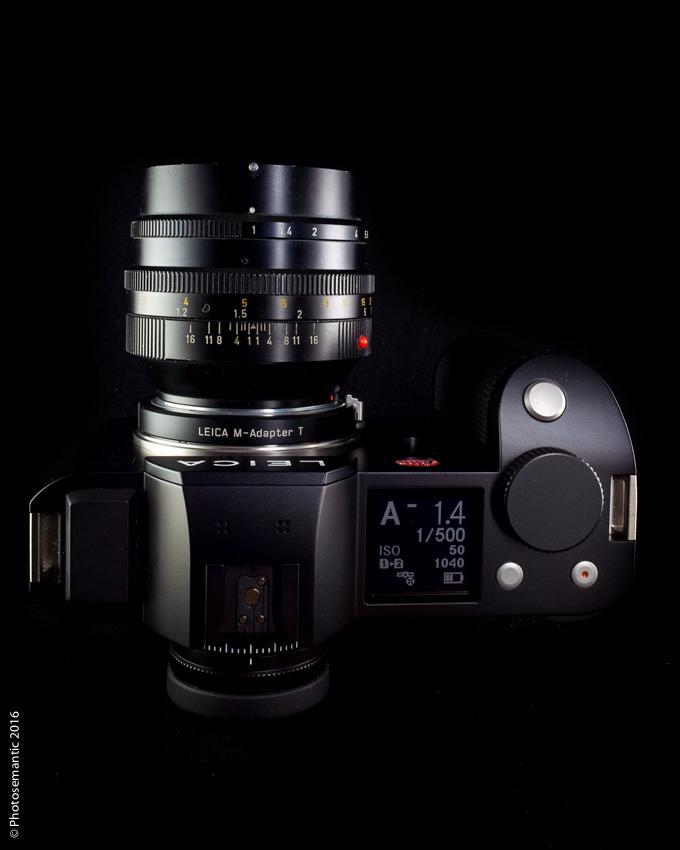 Leica SL (Typ 601) +Leica Noctilux 50mm E58, version 1