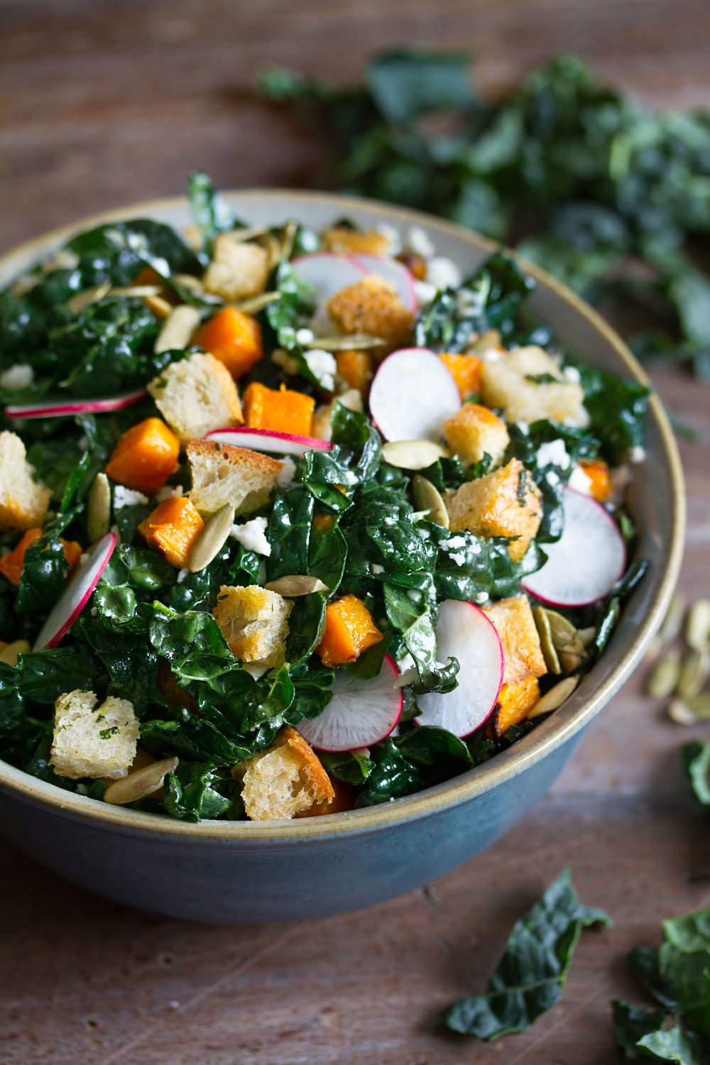 Mexican kale salad side