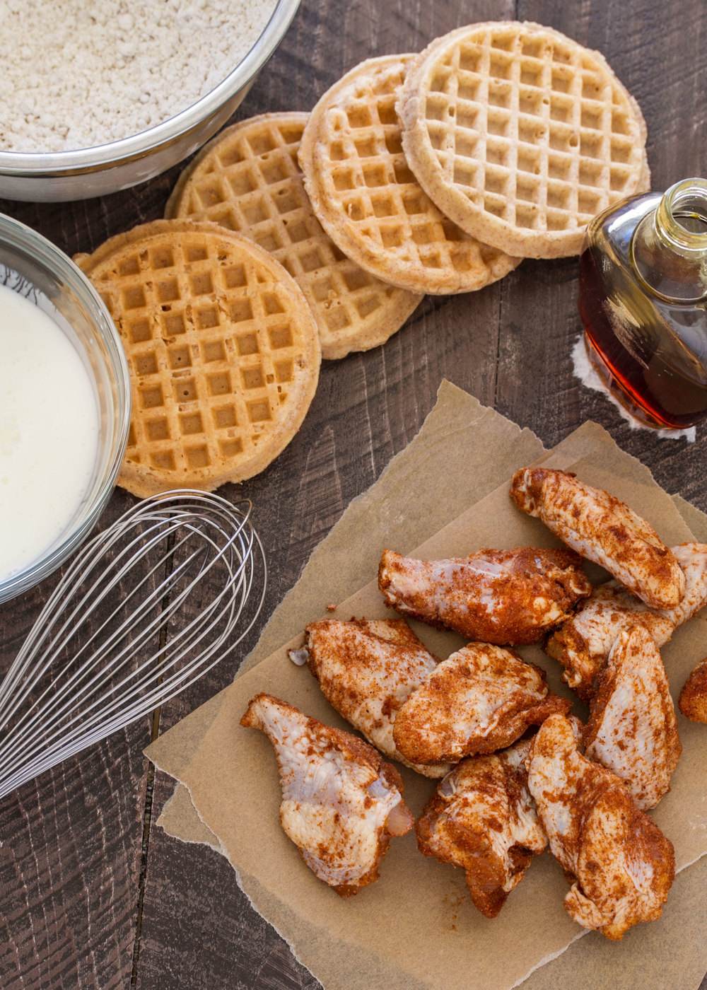 chicken and waffle wings ingredients