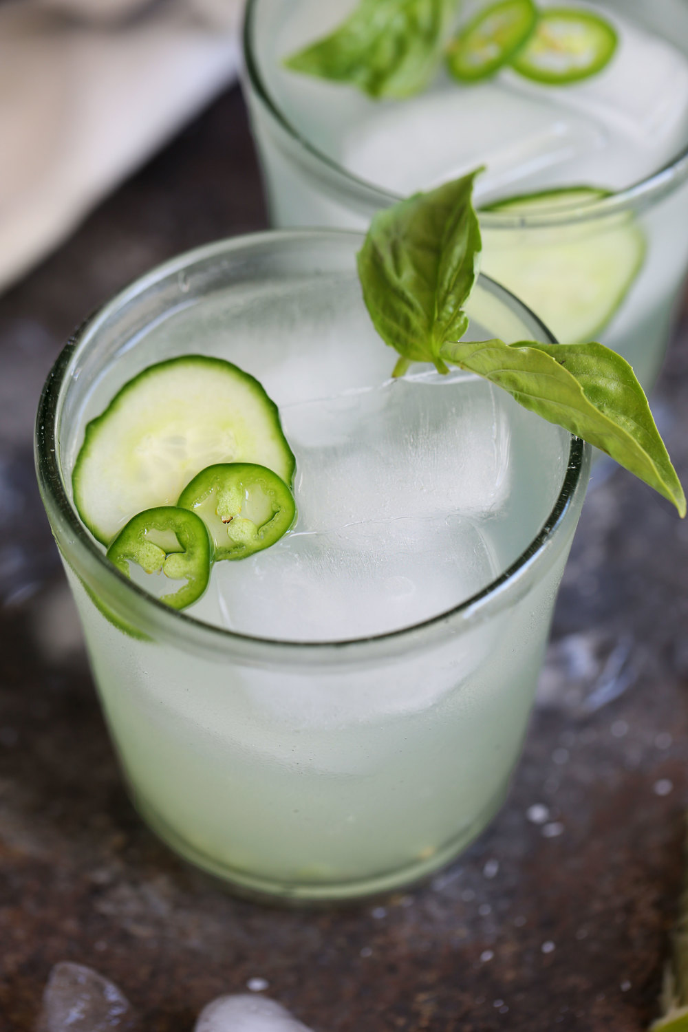 spicy cucumber marg