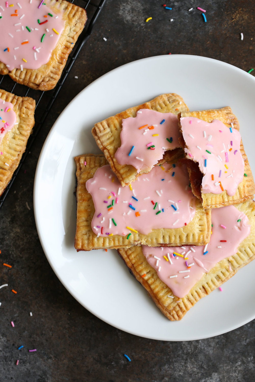 pop tarts on plate