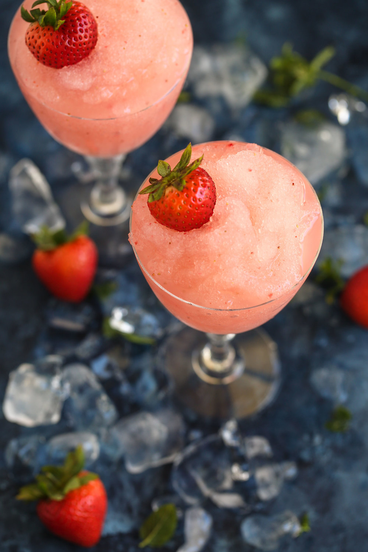 frozé frozen rosé slushie
