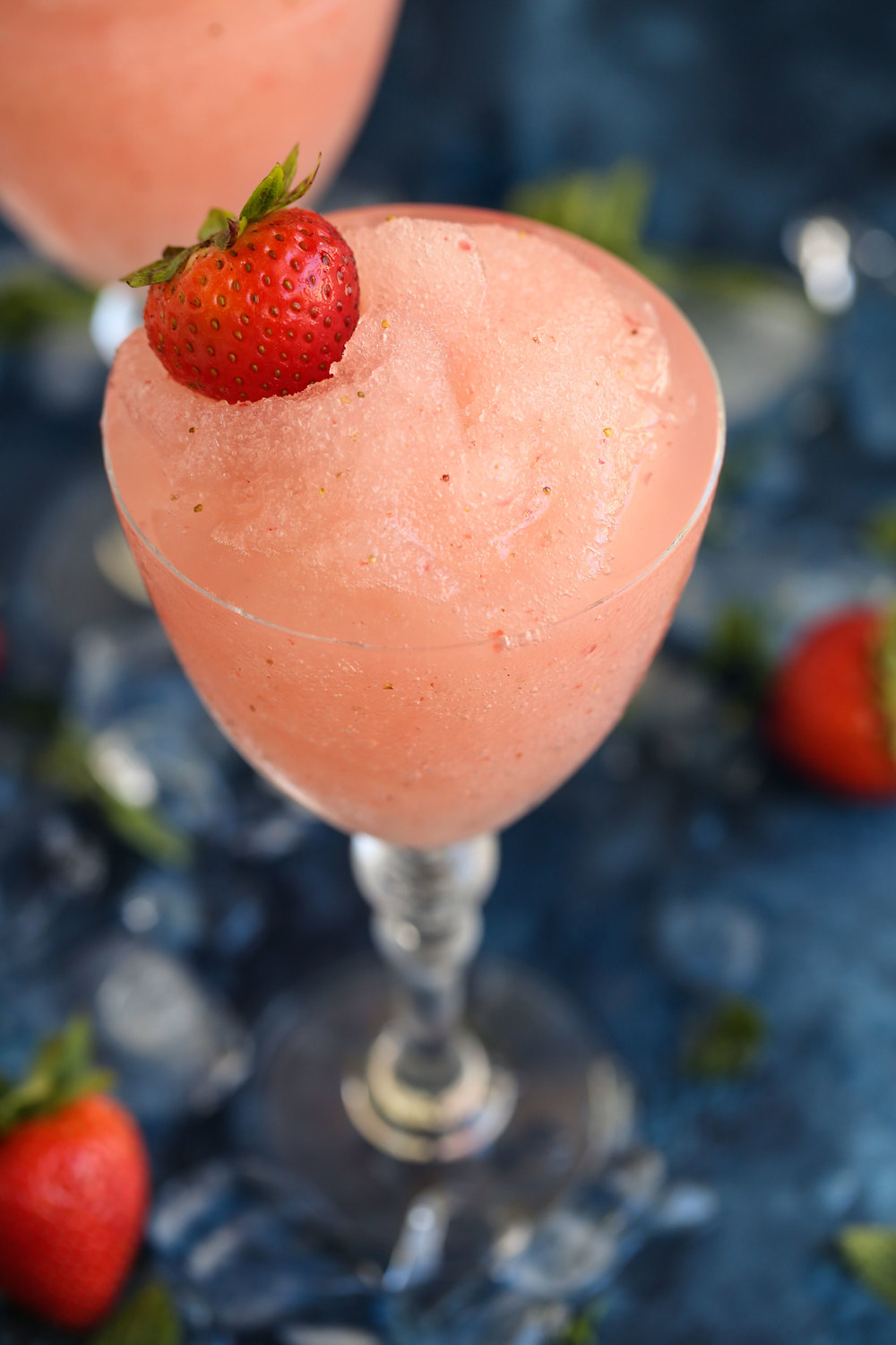 frozé closeup