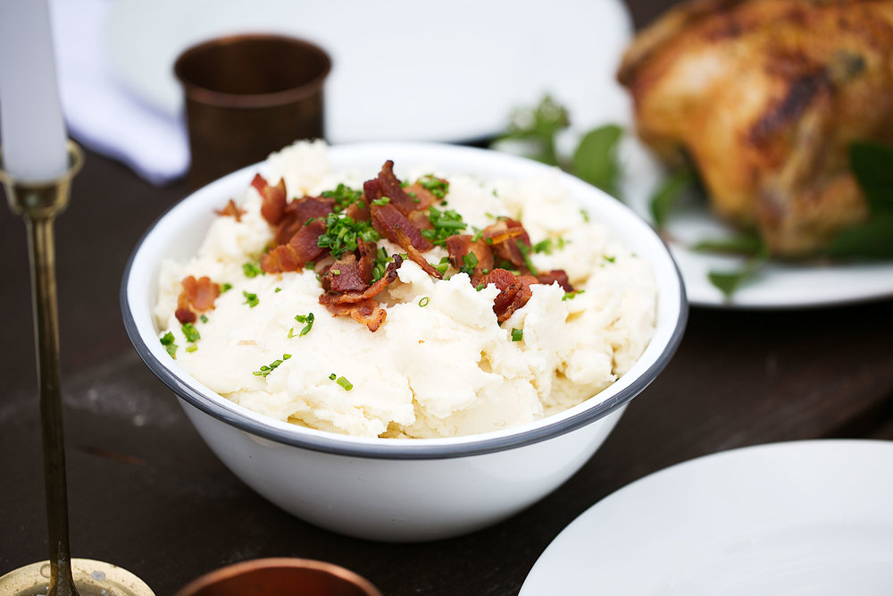 smoked gouda mashed potatoes holiday side dish
