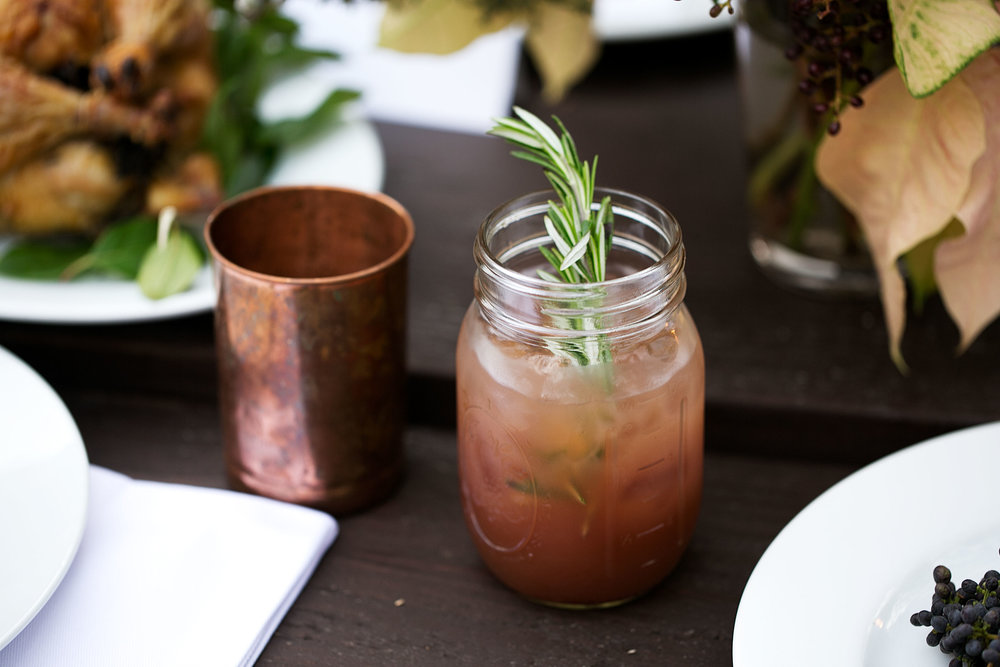 wassail rosemary buck cocktail