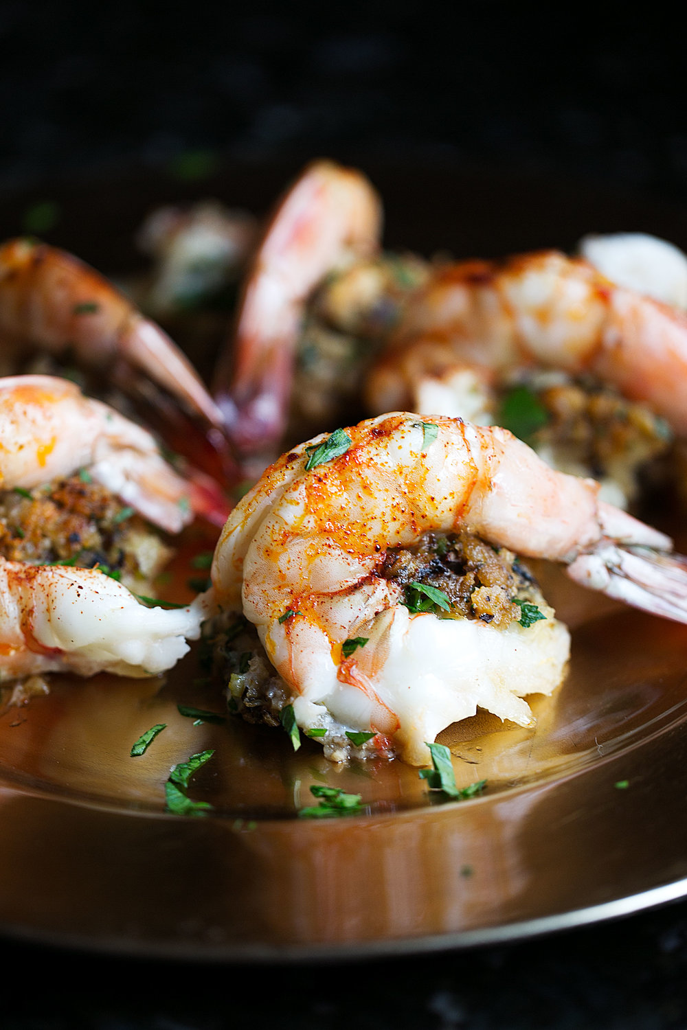 baked stuffed shrimp holiday cooking